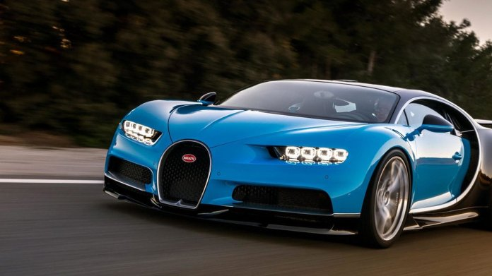 Bugatti Chiron Racing