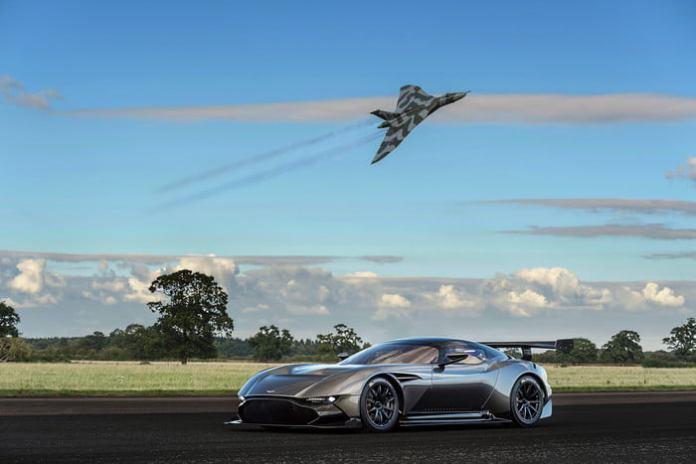 Aston Martin Vulcan standing