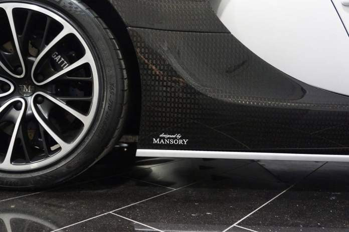 LIMITED EDITION BUGATTI VEYRON BY MANSORY VIVERE Wheels
