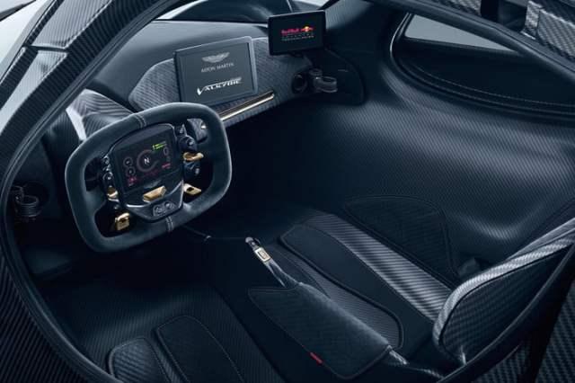 Inside Aston Martin Valkyrie