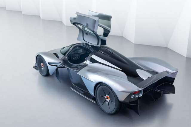 Aston Martin Valkyrie Grey and Black