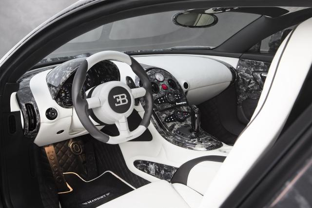 LIMITED EDITION BUGATTI VEYRON BY MANSORY VIVERE Interior