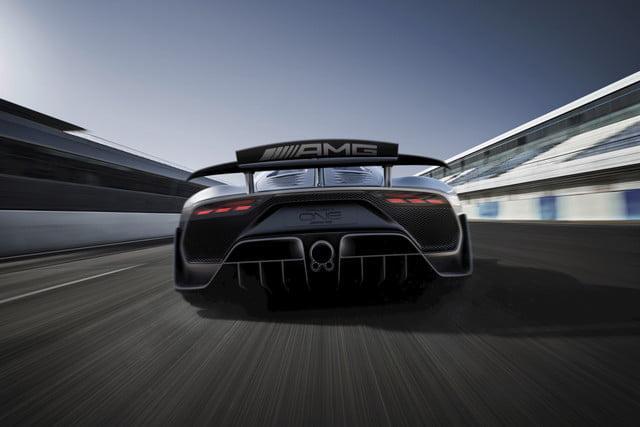 AMG One back Side