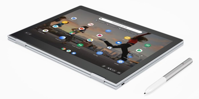 Google Pixelbook Display