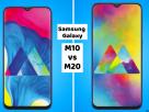 Samsung Galaxy M10 vs Samsung Galaxy M20