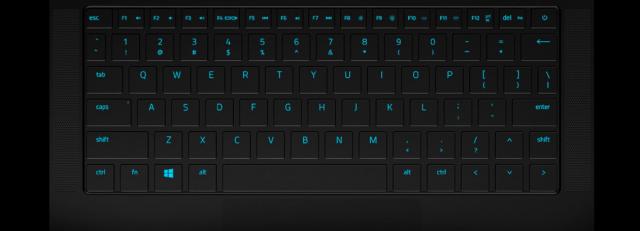 Razer Blade Stealth Keyboard