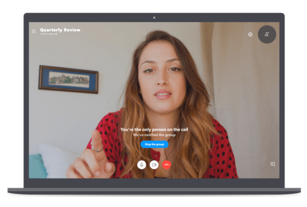 Skype now supports up to 50 people video calling