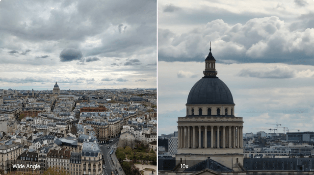 Oppo Reno 10x Zoom Wide angle and Zoom