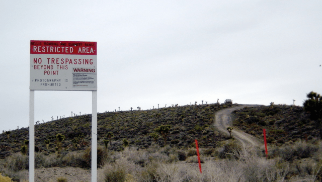 Restricted Area, NO Tresspassing, Area 51