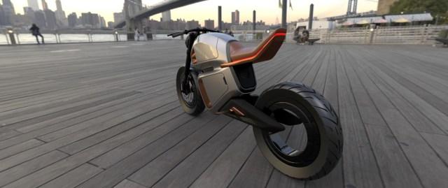 NAWA Racer Electric MotorBike Hubless Rear Wheel