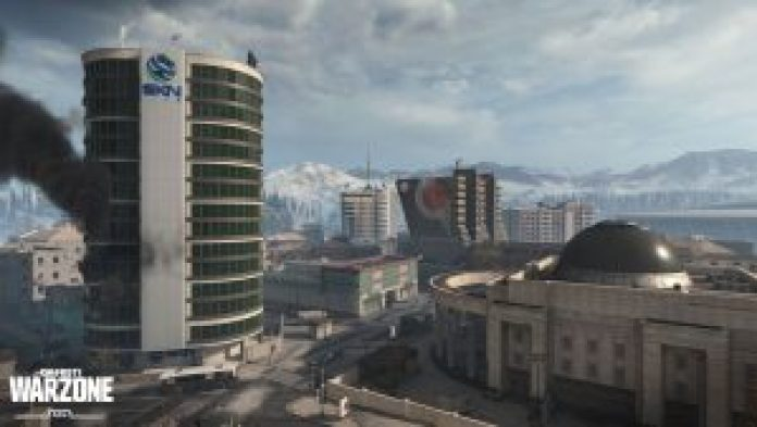 Call of Duty Warzone Verdansk South-East