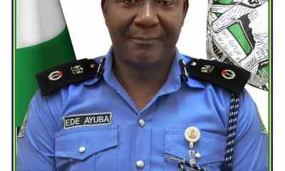 The State Commissioner of Police, Ede Ayuba Ekpeji (PSC)
