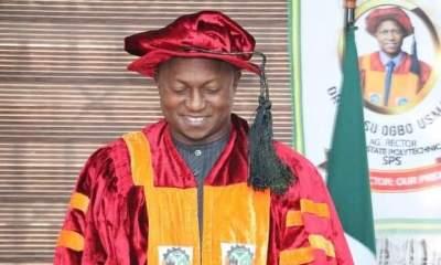 Hon. Dr. Usman Ogbo, Rector Kogi State Polytechnic