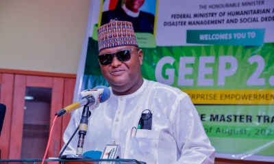 The Senior Special Assistant to the Executive Governor of Nasarawa State on Humanitarian Services who is also the National Social Investment Focal Person in the State, Hon. Imran Usman Jibrin