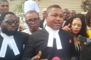 Counsel to pro-Biafra agitator, Nnamdi Kanu, Barr. Ifeanyi Ejiofor