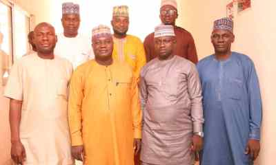 Hon. Usman Labaran Shafa, member representing Toto/ Gadabuke constituency and his people from Toto LG