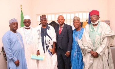 Nasarawa Assembly members, Justice Osagade Osabo Emmanuel as President, Customary Court of Appeal and members