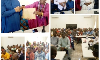 PDP leaders in Esan North East LG of Edo State