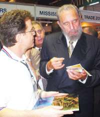 global trade international shipping cuba fidel castro business logistics