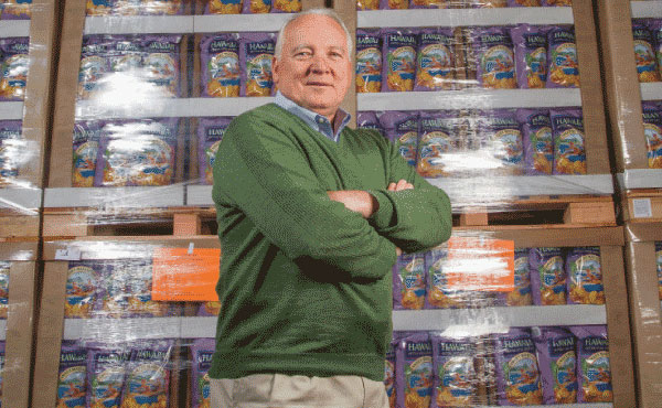 Chipping InJeff Leichleiter began as a partner at Tim's Cascade snacks, tasked with creating the production line. Since the retirement of Tim Kennedy—the company's namesake—Leichleiter has taken over the top spot as general manager and led the brand to new heights.