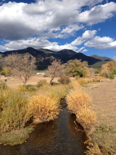 A look at Taos and its southern mountain landscape. Courtesy of member Gayle S.