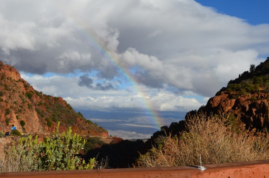Talk about a traveling rainbow. Member Kevin M. shot this beauty in Jerome, Arizona.