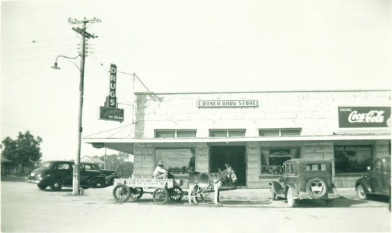 A flashback on what Bandera, Texas used to look like. Not much has changed! Photo courtesy of Bandera County Convention & Visitors Bureau.