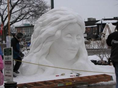 Charles T. - National Snow Sculptures Championships at Lake Geneva, Wisconsin.