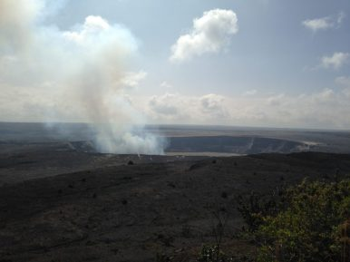 """The Caldera Hawaii Volcanoes National Park - Mother Earth letting off steam (Big Island)."" - Alan F."
