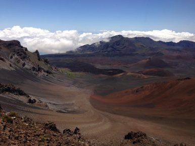 Volcano at Haleakala National Park, Hawaii. - William C.