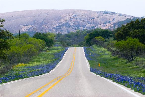 Enchanted Rock. Photo courtesy of Barbara Shallue/Texas Hill Country.