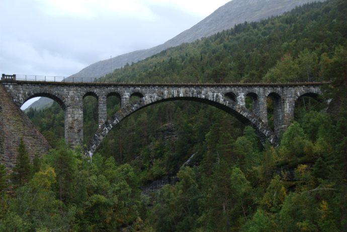The Kylling Bridge is an important part of the Rauma Railway. Photo Credit: Siri Spjelkavik/Flickr