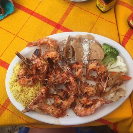 ixtapa mexico shrimp food global discovery vacations
