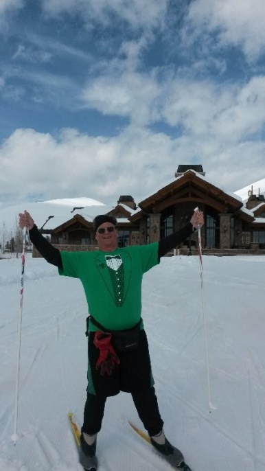Global Discovery Vacations member Steve B. sporting green for St. Patrick's Day.