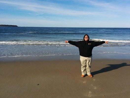 محمد الجوهري في شاطئ كرين، إسيكس، ماساشوستس بالولايات المتحدة الأمريكية.