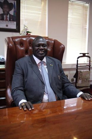 South Sudan's former Vice President Riek Machar. Public Domain photo by Voice of America.