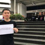 Condenan a activista de Singapur a 16 días de prisión por haber organizado video-debate con líder juvenil hongkonés Joshua Wong