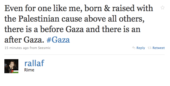 Rime Allaf shares her thoughts on Gaza