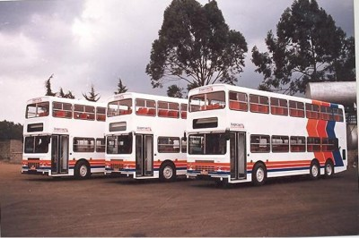 Stagecoach had 20 of these double decker buses #KenyanHistory #KenyaAt50 pic.twitter.com/R7Wb4WTMxQ