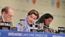 UNFCCC Chief Figueres Urges Nations to Step Up Their Commitments and Work Toward Comprehensive Climate Treaty