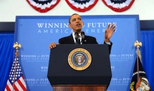 Obama Calls for One-Third Reduction in Foreign Oil Imports by 2025