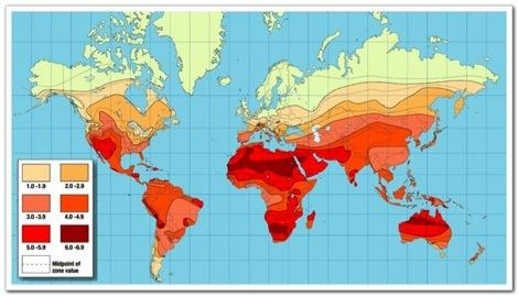Solar Exposure Map