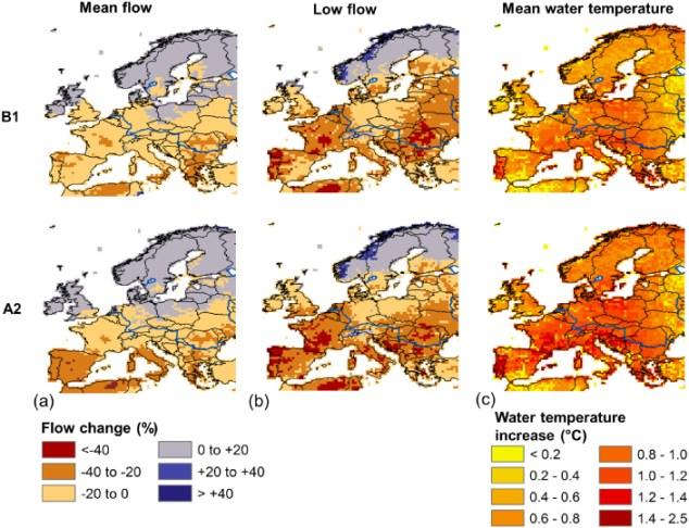 """""""Water constraints on European power supply under climate change: impacts on electricity prices,""""  Michelle T H van Vliet et al 2013 Environ. Res. Lett. 8 035010 doi:10.1088/1748-9326/8/3/035010 © 2013 IOP Publishing Ltd"""