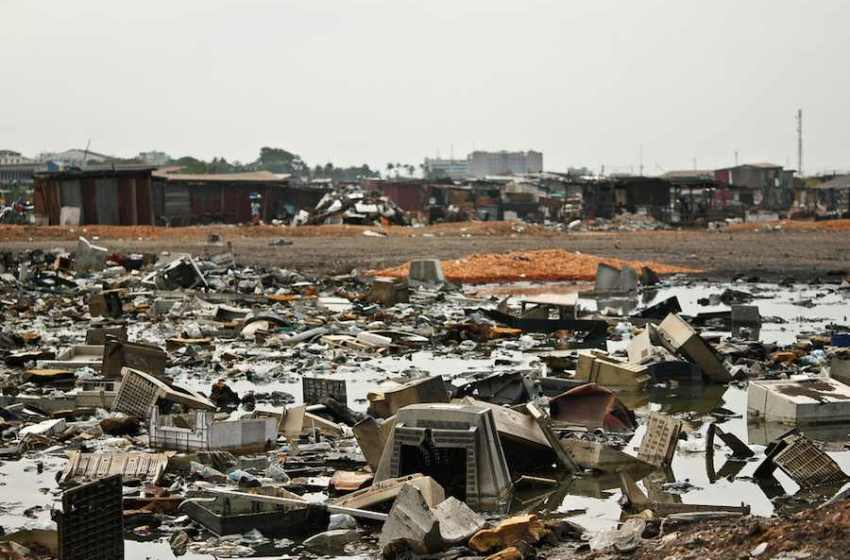 First Map of World E-Waste Highlights Staggering Extent of Growing Problem