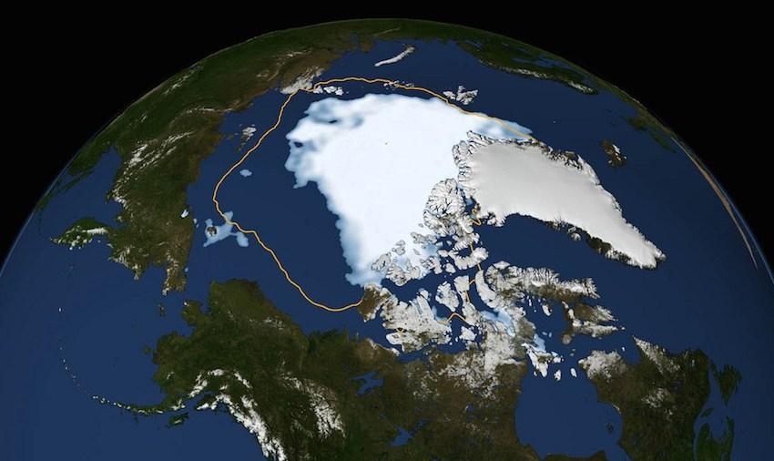 Artic Sea Ice and Albedo: Ice Free Season Growing 5 Days per Decade