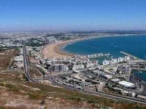 Agadir - the site of Morocco's largest desalination plant