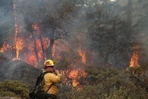 California wildfires and climate change