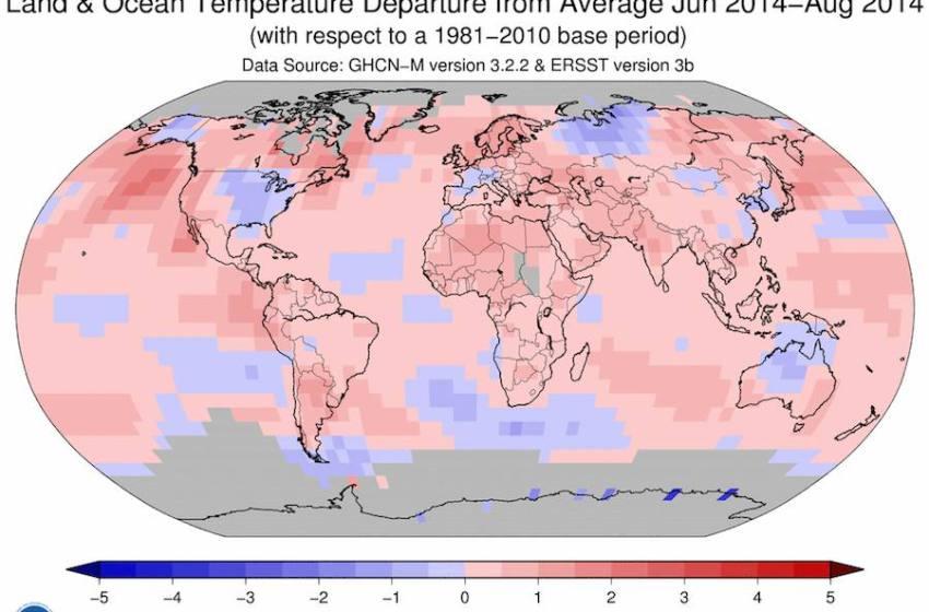 2014 Warmest Summer on Record