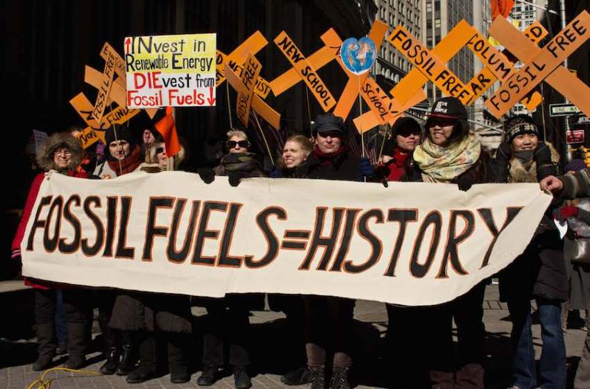 The Growing Power of the Fossil Fuel Divestment Movement