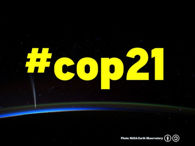 COP21 in Paris offers humanity an opportunity to turn back from the brink